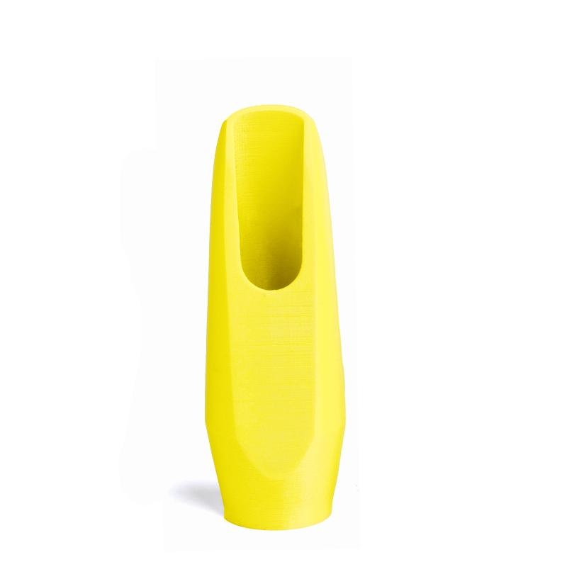 Mondstuk voor altsaxofoon in de kleur fluoriserend geel van Flow