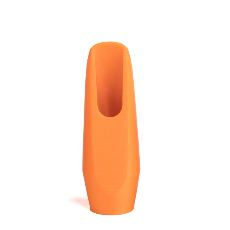 Mondstuk voor altsaxofoon in de kleur oranje van Flow