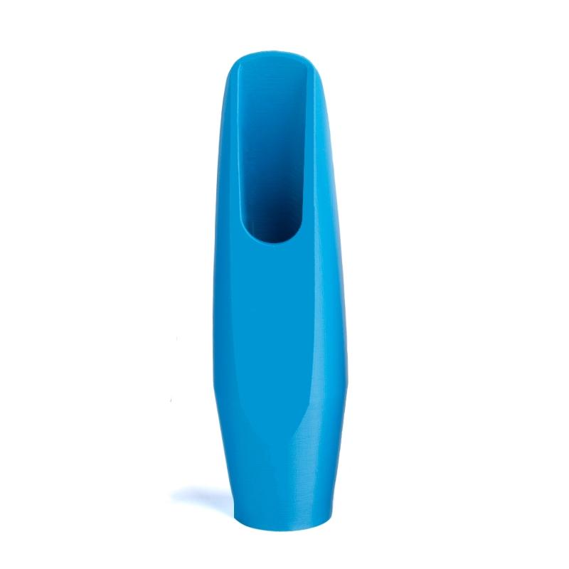 Mondstuk voor tenorsaxofoon in de kleur blauw van Flow