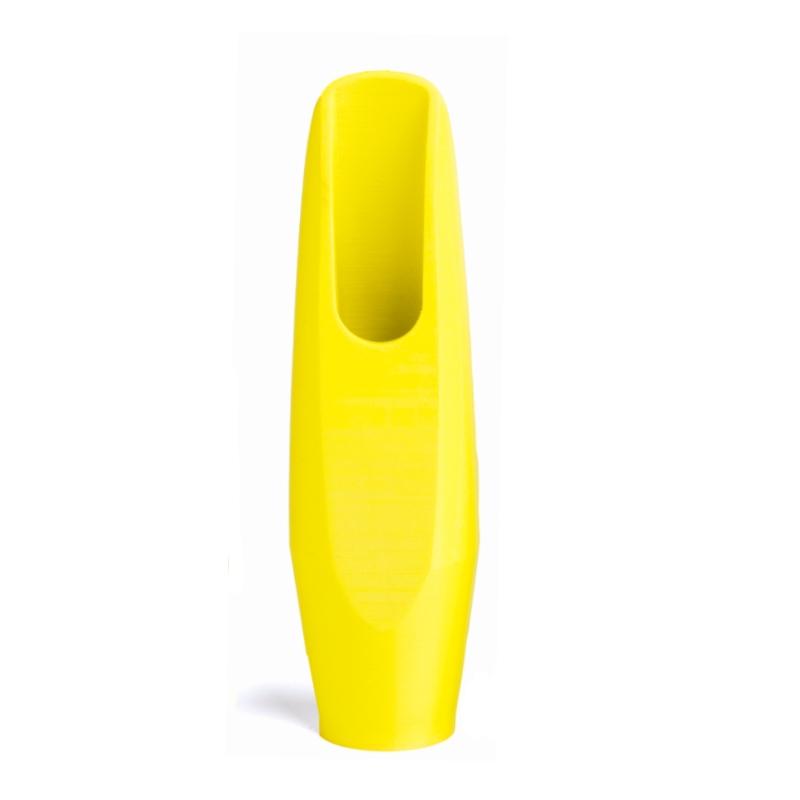 Tenorsaxofoon mondstuk fluoriserend geel