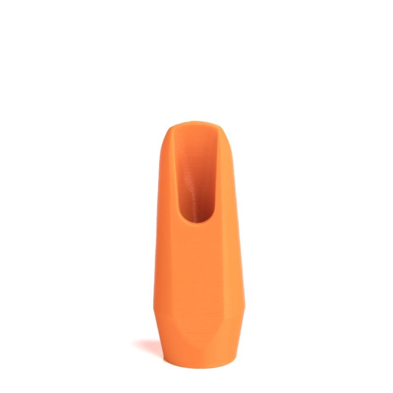 Sopraansaxofoon mondstuk oranje