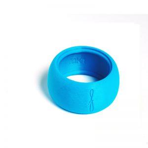 Flow mondstukken rietbinder voor altsaxofoon-kleur blauw