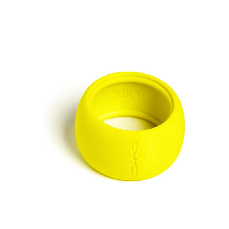 Rietbinder altsaxofoon fluoriserend geel