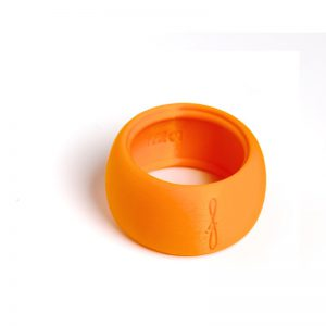 Flow mondstukken rietbinder voor altsaxofoon-kleur oranje