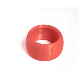 Flow mondstukken rietbinder voor altsaxofoon-kleur rood