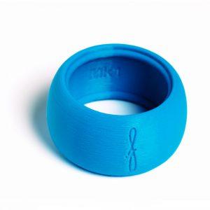 Flow Woodwind rietbinder voor baritonsaxofoon-kleur blauw