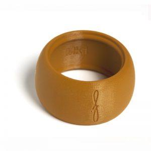 Flow mondstukken rietbinder voor baritonsaxofoon-kleur bruin