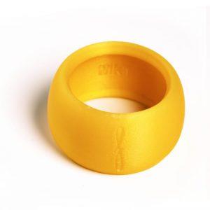 Flow Woodwind rietbinder voor baritonsaxofoon-kleur geel-image