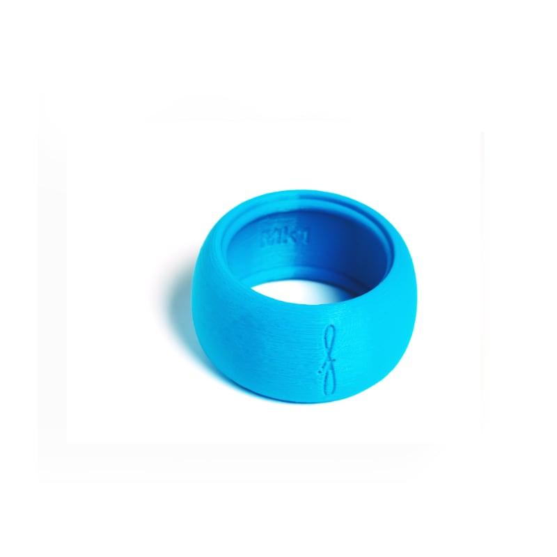 Flow mondstukken rietbinder voor sopraansaxofoon-kleur blauw