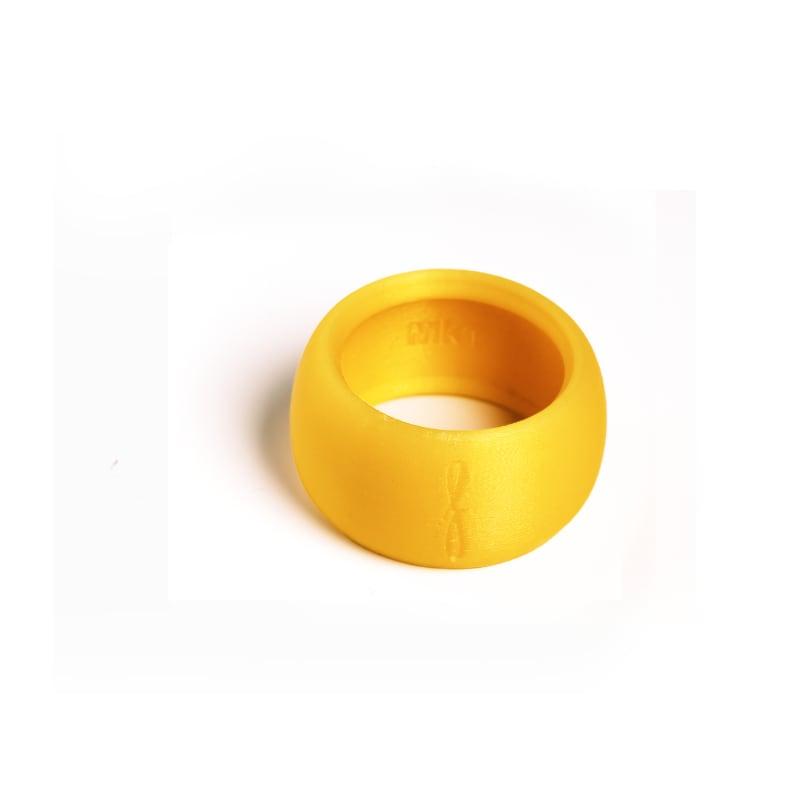 Rietbinder sopraansaxofoon geel