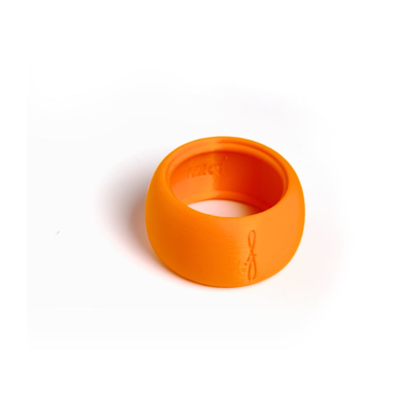 Rietbinder sopraansaxofoon oranje