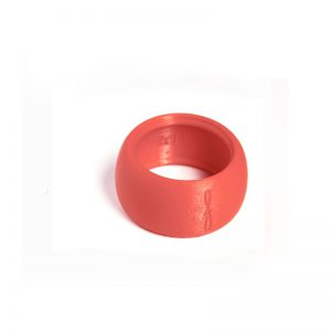 Flow mondstukken rietbinder voor sopraansaxofoon-kleur rood