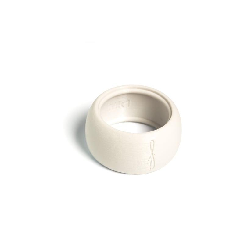 Flow mondstukken rietbinder voor sopraansaxofoon-kleur wit