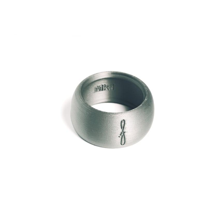 Rietbinder sopraansaxofoon zilver