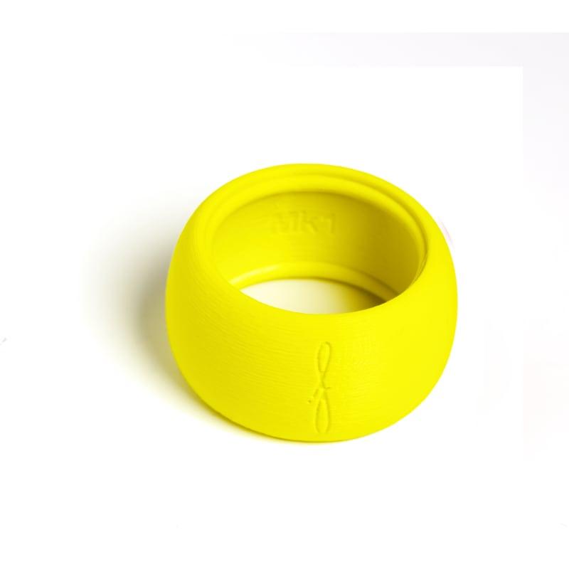 Rietbinder tenorsaxofoon fluoriserend geel