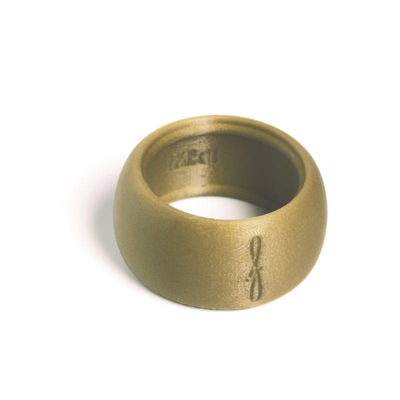 Flow mondstukken rietbinder voor tenorsaxofoon-kleur goudbruin