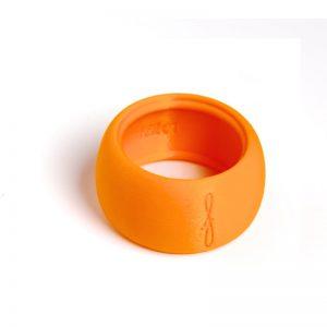 Flow mondstukken rietbinder voor tenorsaxofoon-kleur oranje
