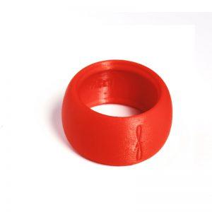 Flow mondstukken rietbinder voor tenorsaxofoon-kleur rood